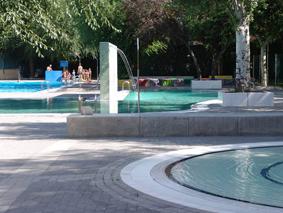 Gira arquitectos slp piscinas municipales de velilla de for Madrid piscinas municipales